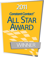 bytes & words is a 2011Constant Contact All Star Award winner!
