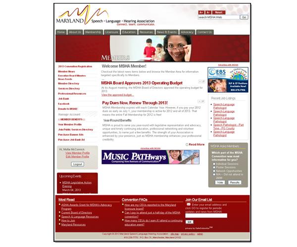 Maryland Speech-Language-Hearing Association